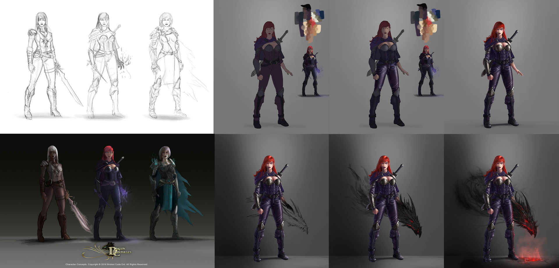 Robert crescenzio dragon npc female character process