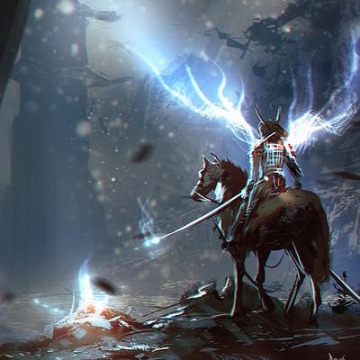 Reha sakar mounted samurai final