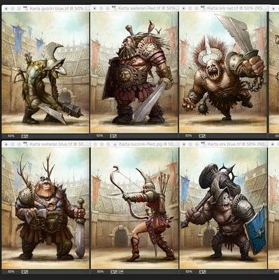 Tomek larek gladiators zbior