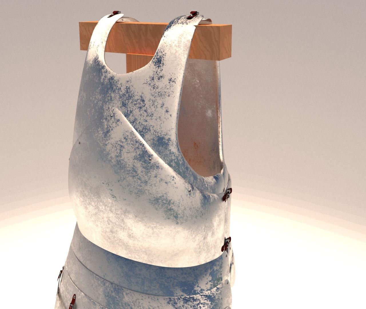 Cuirass - Front III Detail