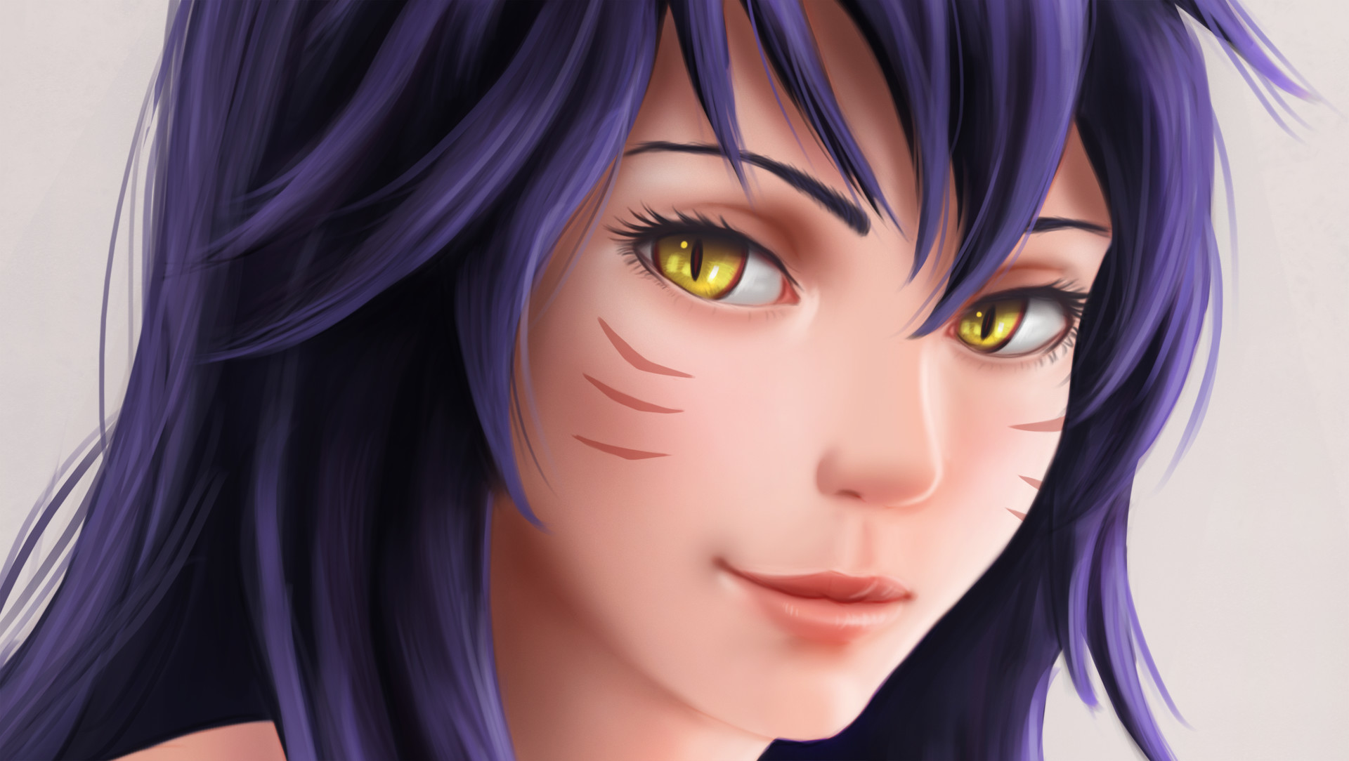 Image result for ahri face