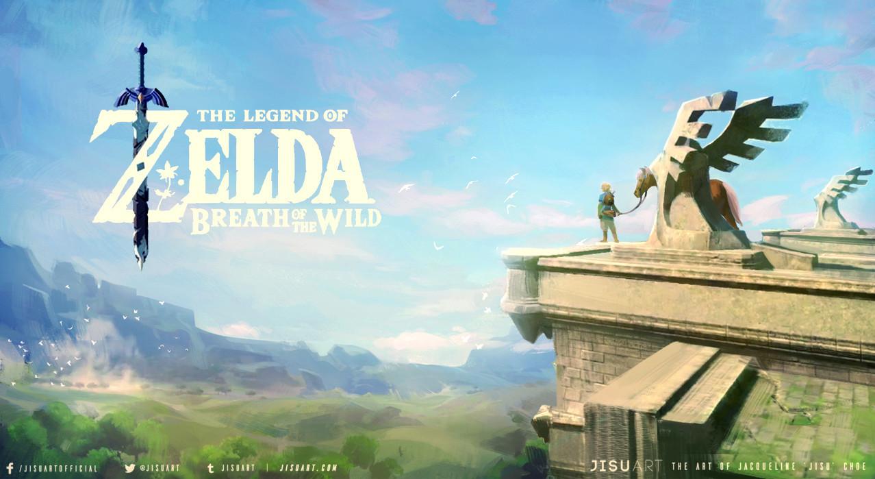 Jisu choe breath of the wild webversion logo 1