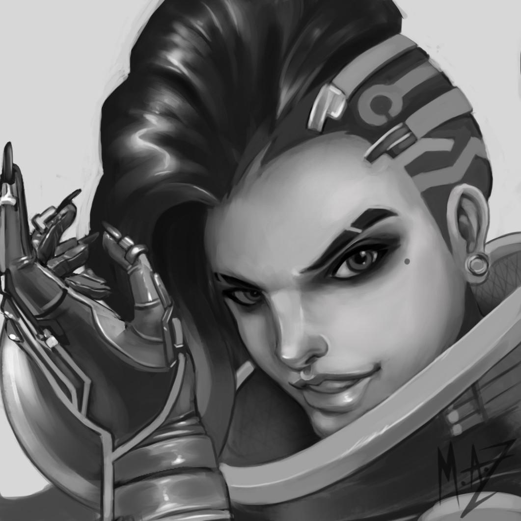 Anthea zammit sombra profile sketch