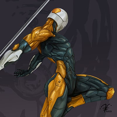 Gray fox - Metal Gear