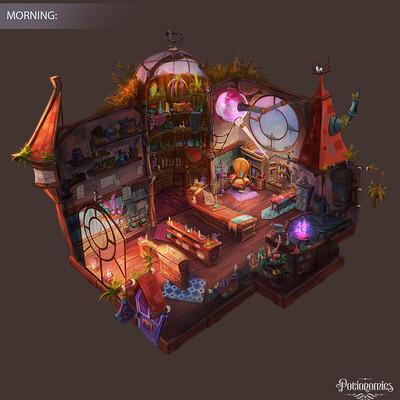 Atomhawk design voracious games potionomics potion shop morning