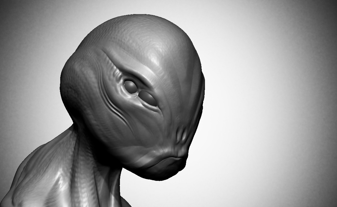 Adam milicevic fishy zbrush model