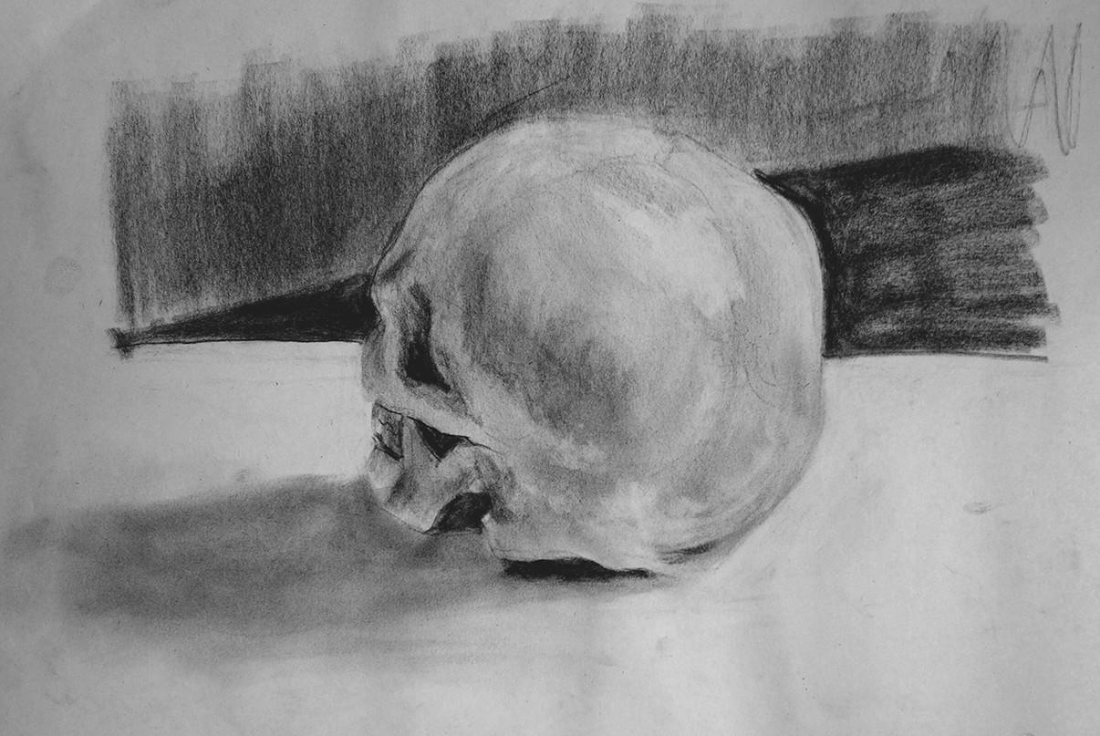 Iain gillespie skull 03