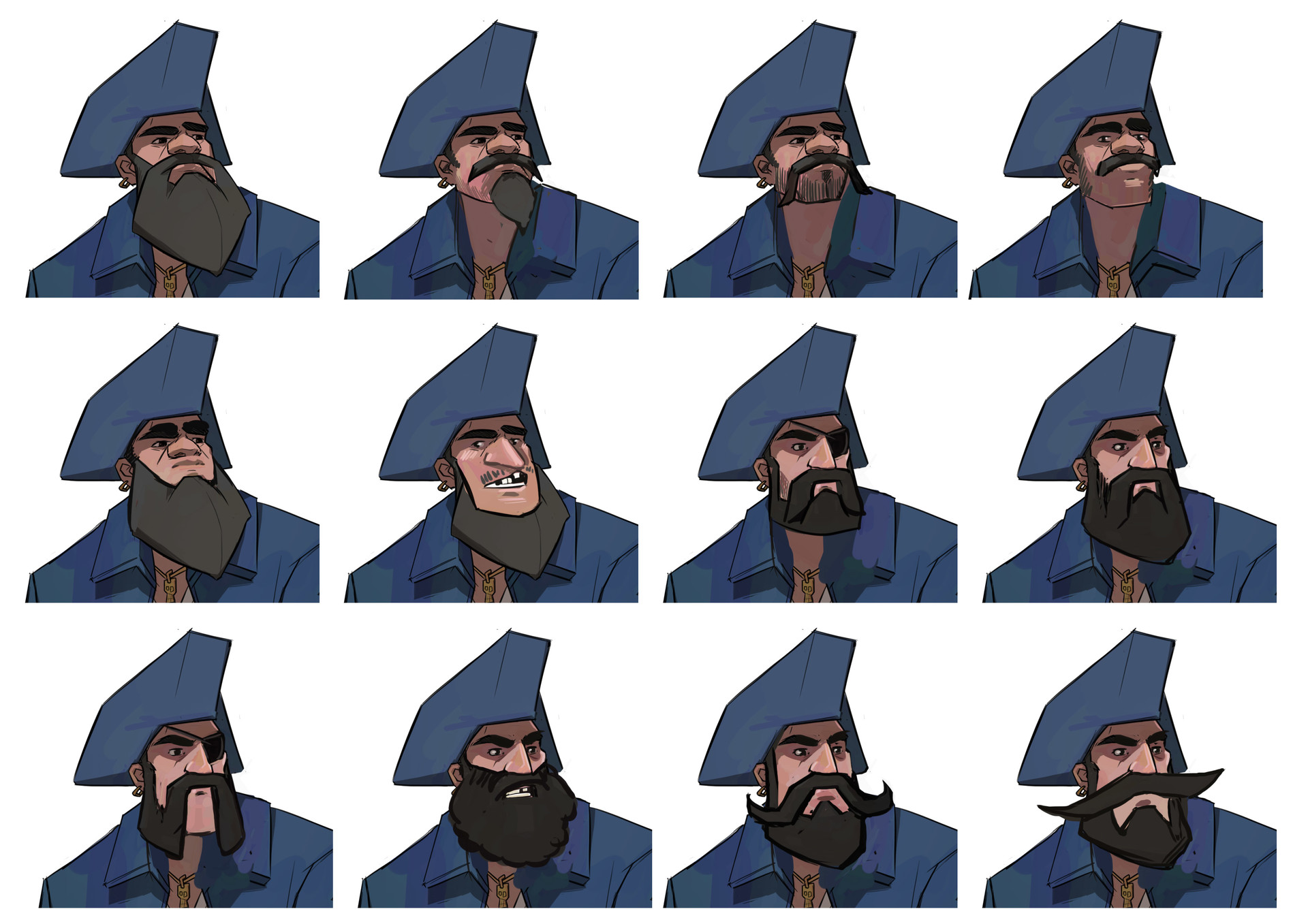 Jake bullock pirate6 faces