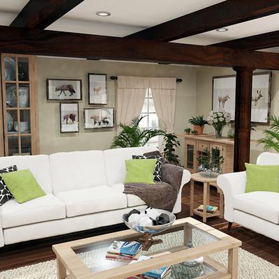Tyron dominique da gama livingroom