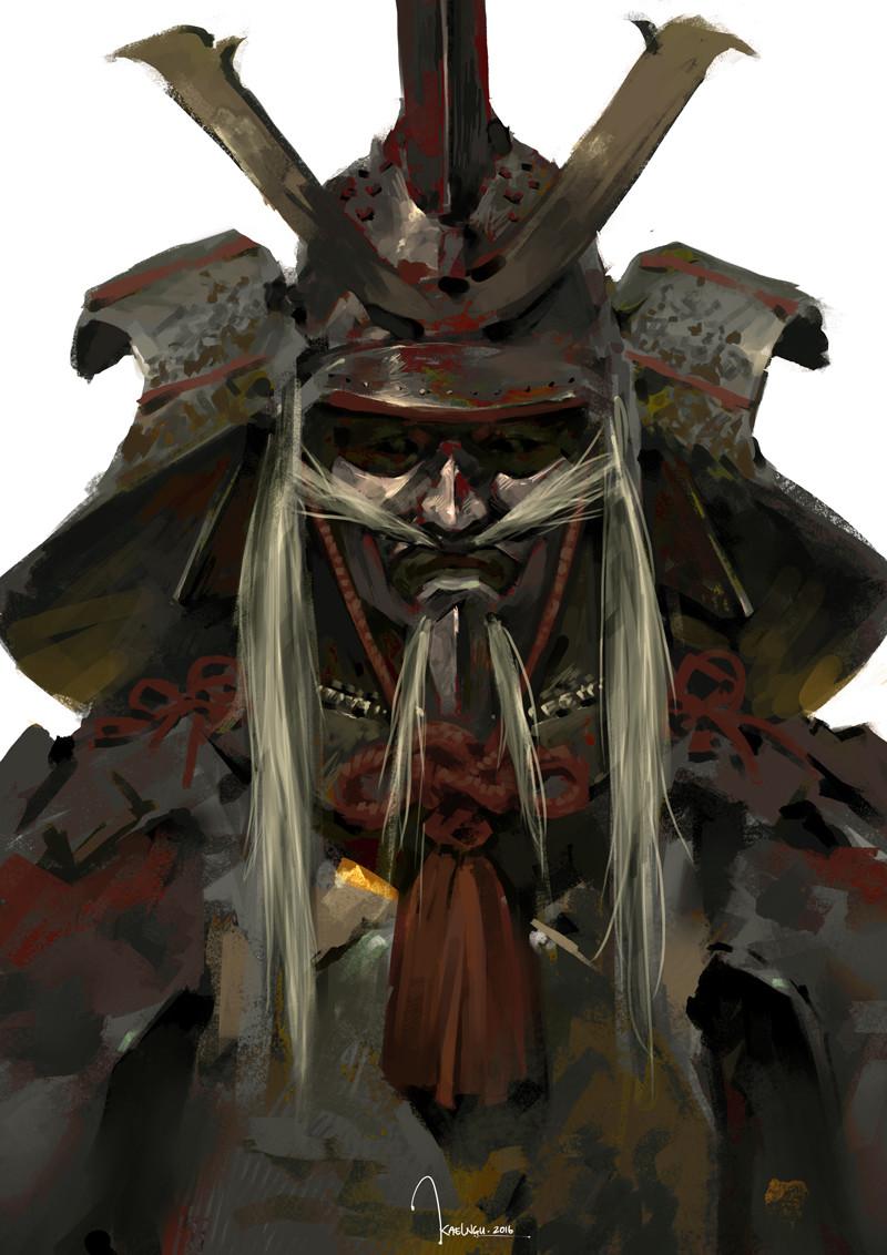 Kael ngu speedpaint 20161117 samurai copy