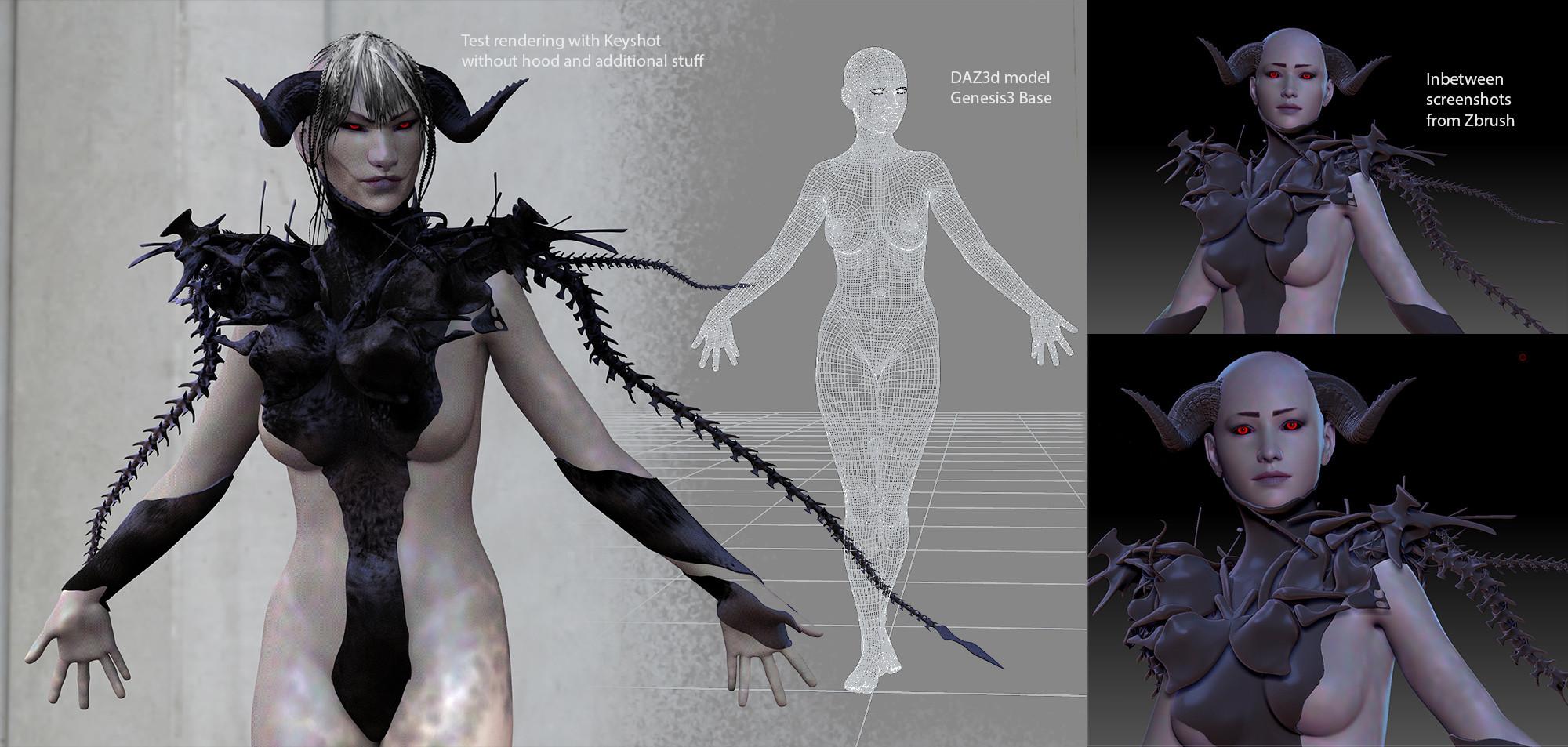 Preliminary renderings / screencaps