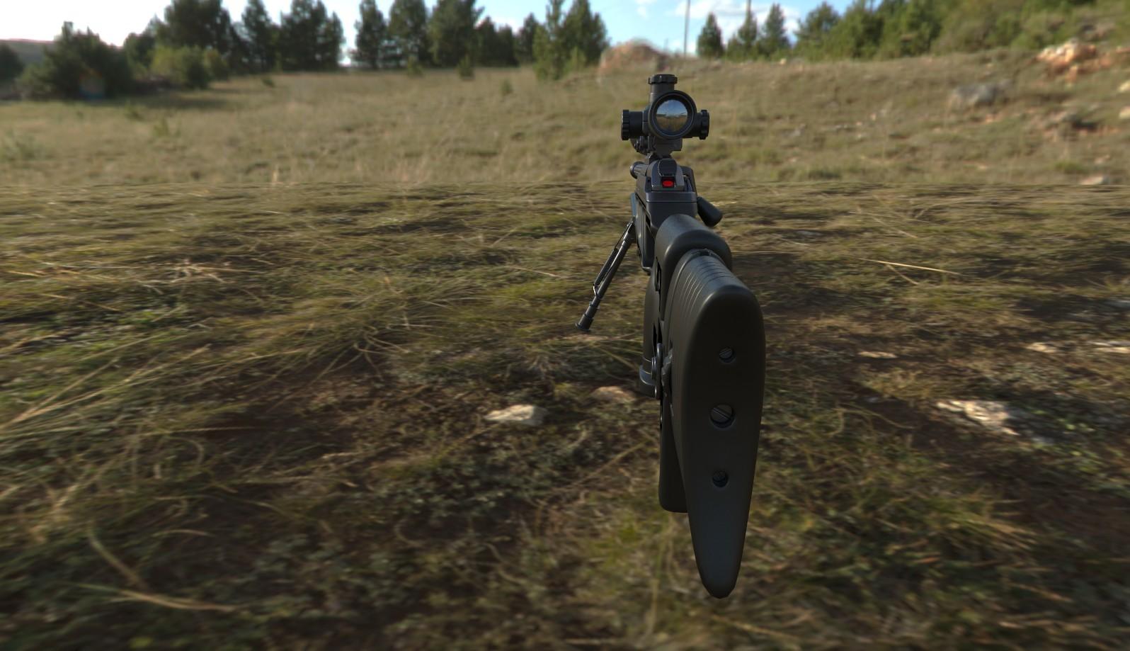 David stingl sniper rifle r93 bacl