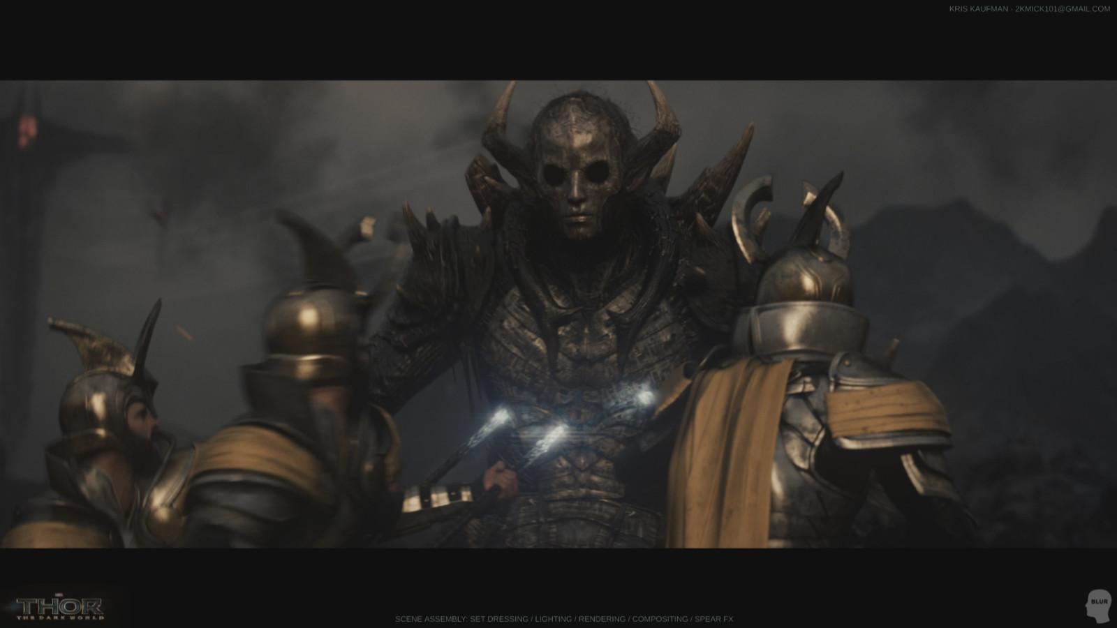 Thor The Dark World: Set Dressing / Lighting / Rendering / Compositing