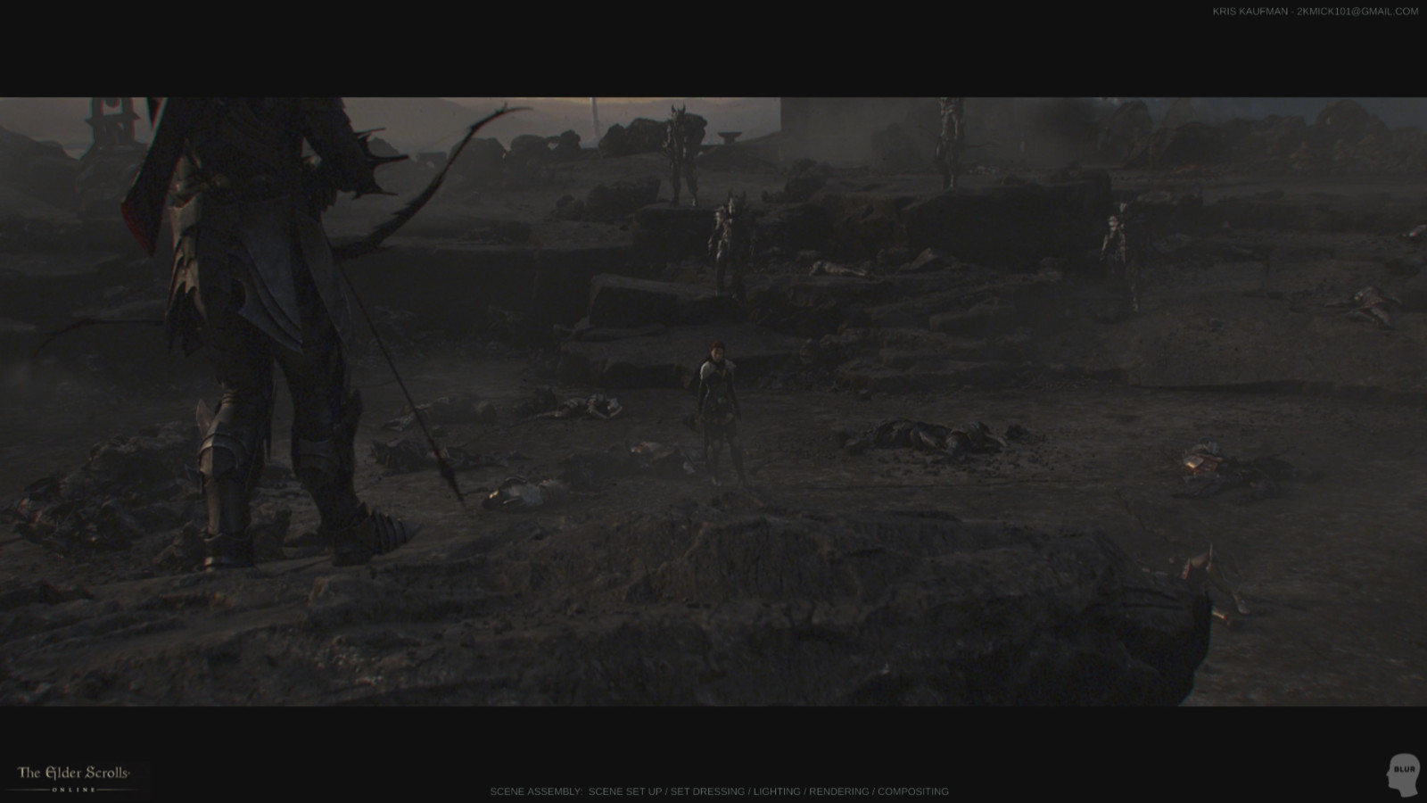 The Elder Scrolls Online: Set Dressing / Lighting / Rendering / Compositing