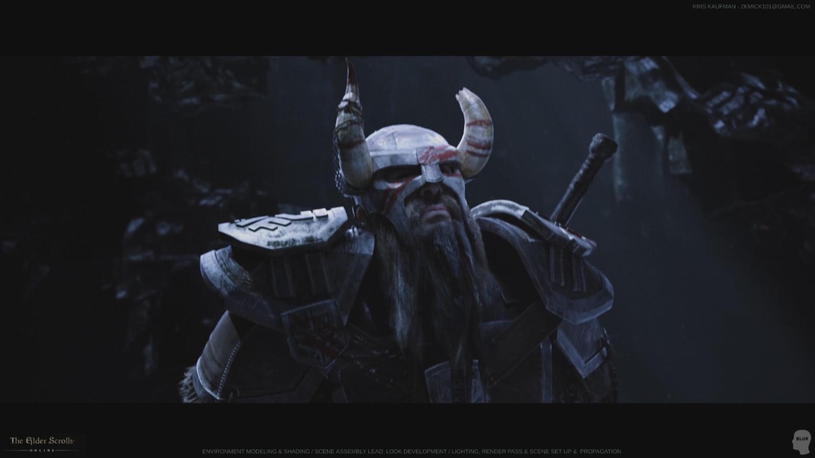The Elder Scrolls Online: Look Development / Environment Modeling & Shading / Lighting / Rendering / Compositing
