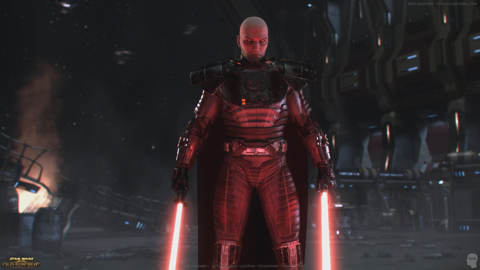 Star Wars: The Old Republic: Set Dressing / Lighting / Rendering / Compositing