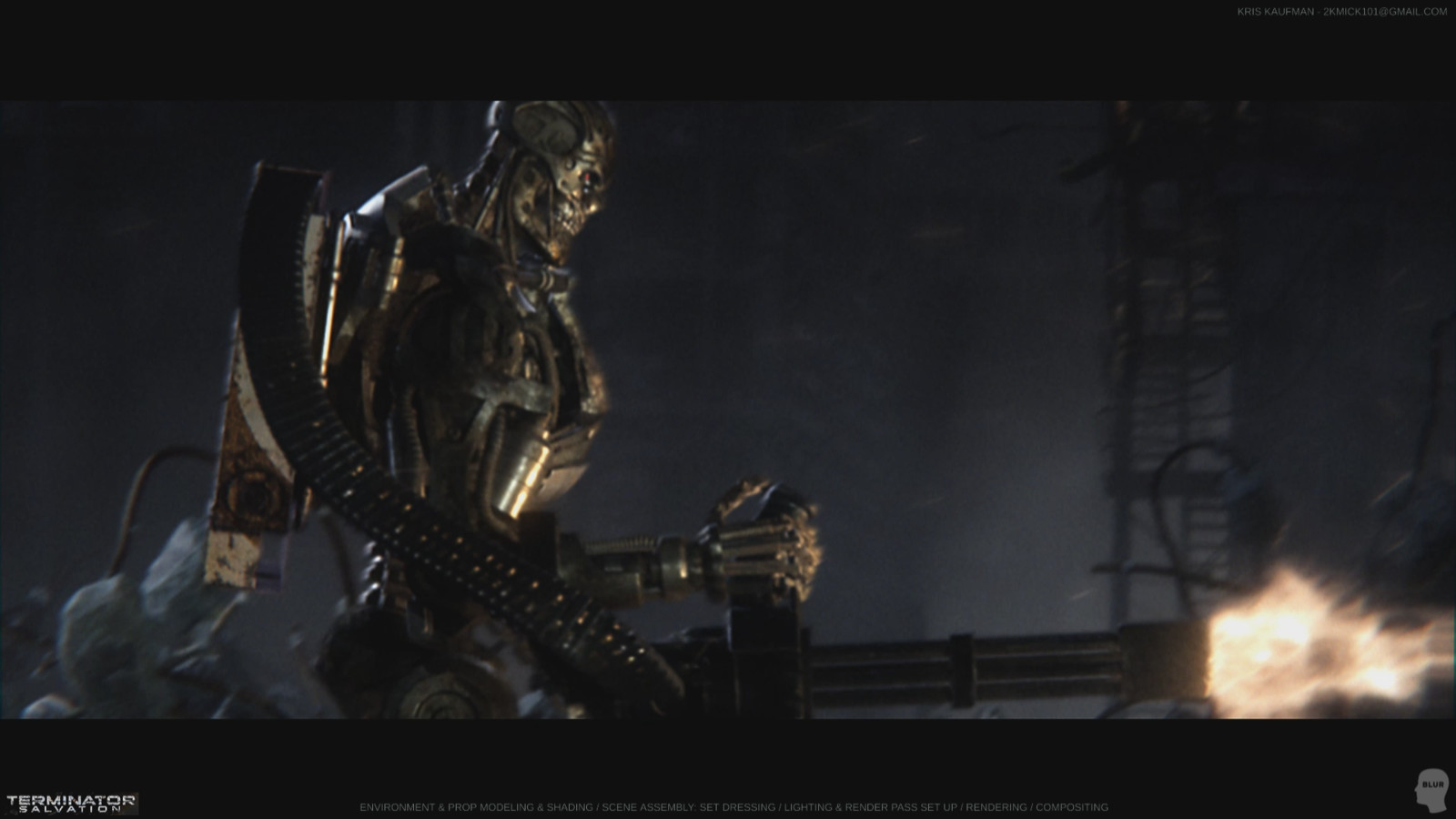 Terminator Salvation: Environment Modeling & Shading / Lighting / Rendering / Compositing
