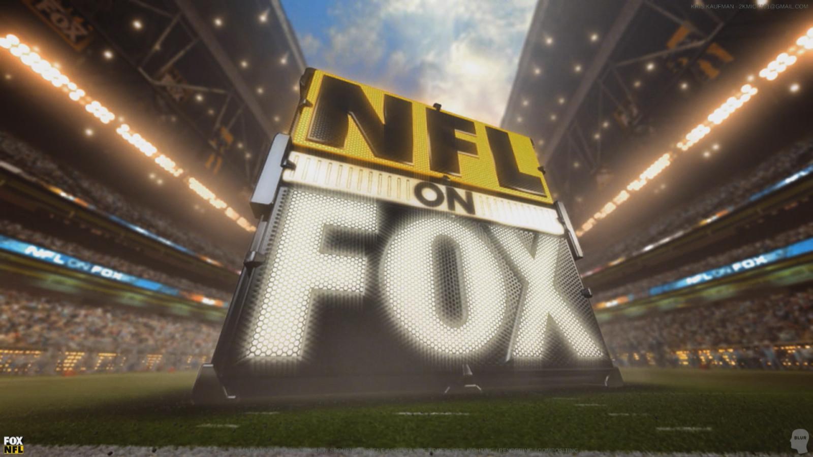 FOX NFL: Logo Animation / Set Dressing / Lighting / Rendering / Compositing