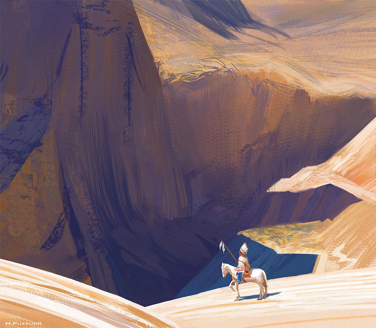 Hugo puzzuoli canyon indian02