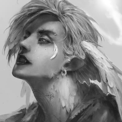 Lee kent portrait gray done
