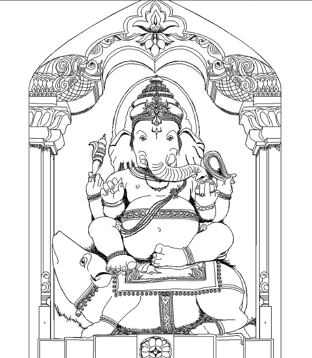 Rajesh sawant lordganeshwireframe