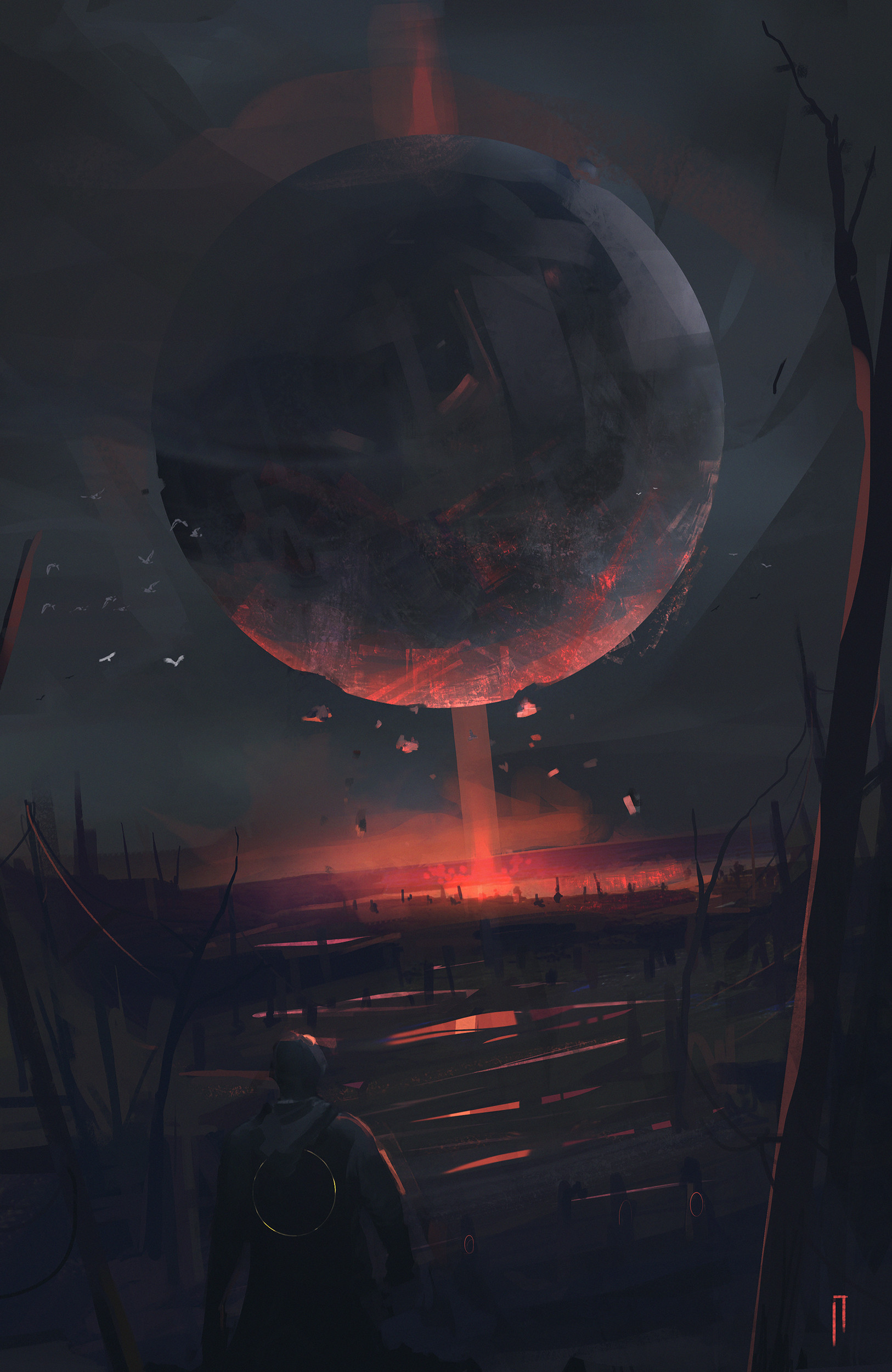 Ismail inceoglu material sphere sketch
