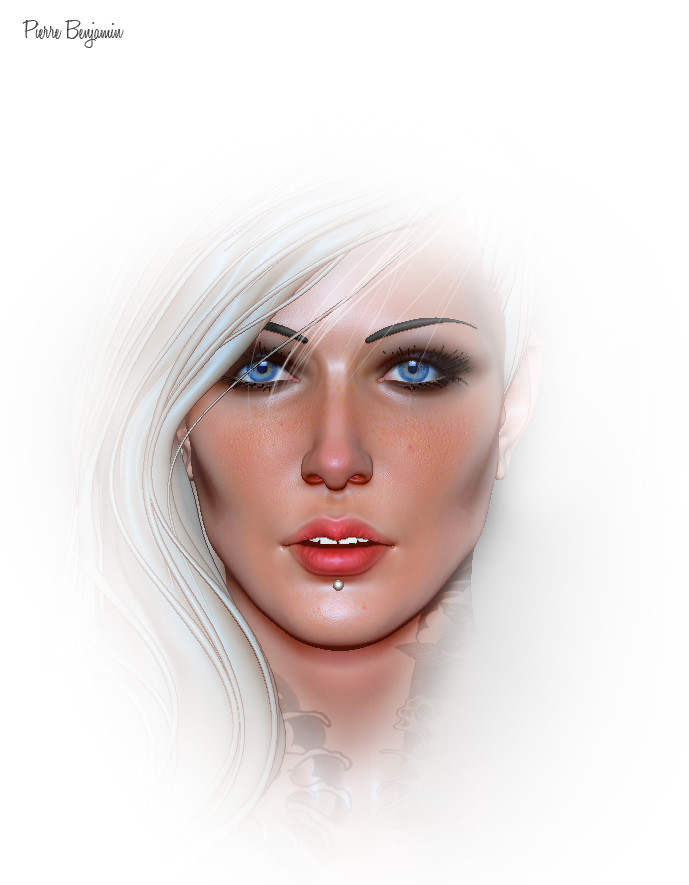 Pierre benjamin test woman render 007
