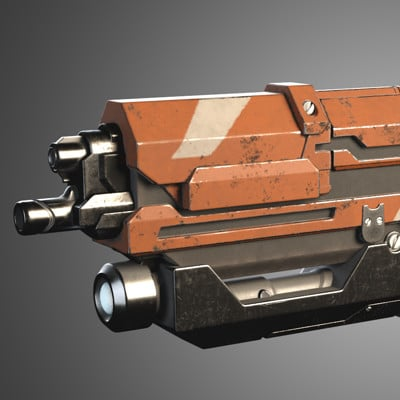 Aaron sturgeon rifle render a