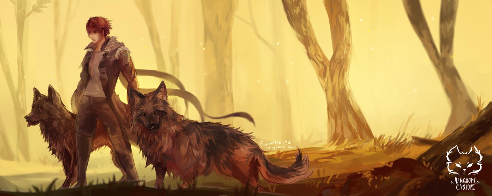 Kingdom Canidae: German Shepherd.