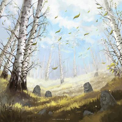 Nele diel the birch glade