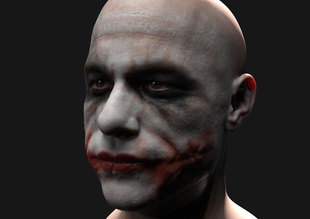 77e61aef24bcf ArtStation - Heath Ledger Joker, Diego Hernan Rudnitzky