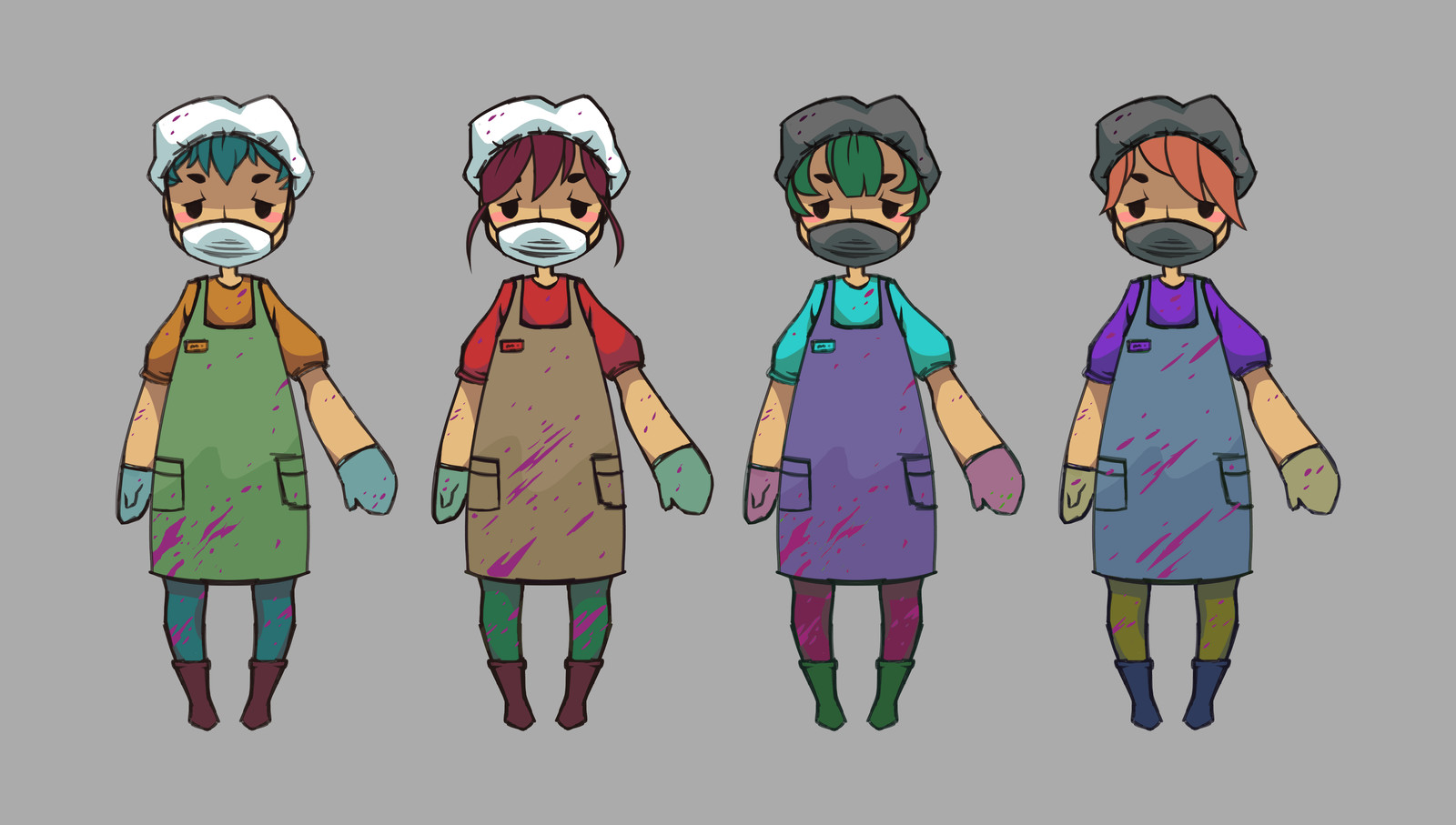 Final Four Designs