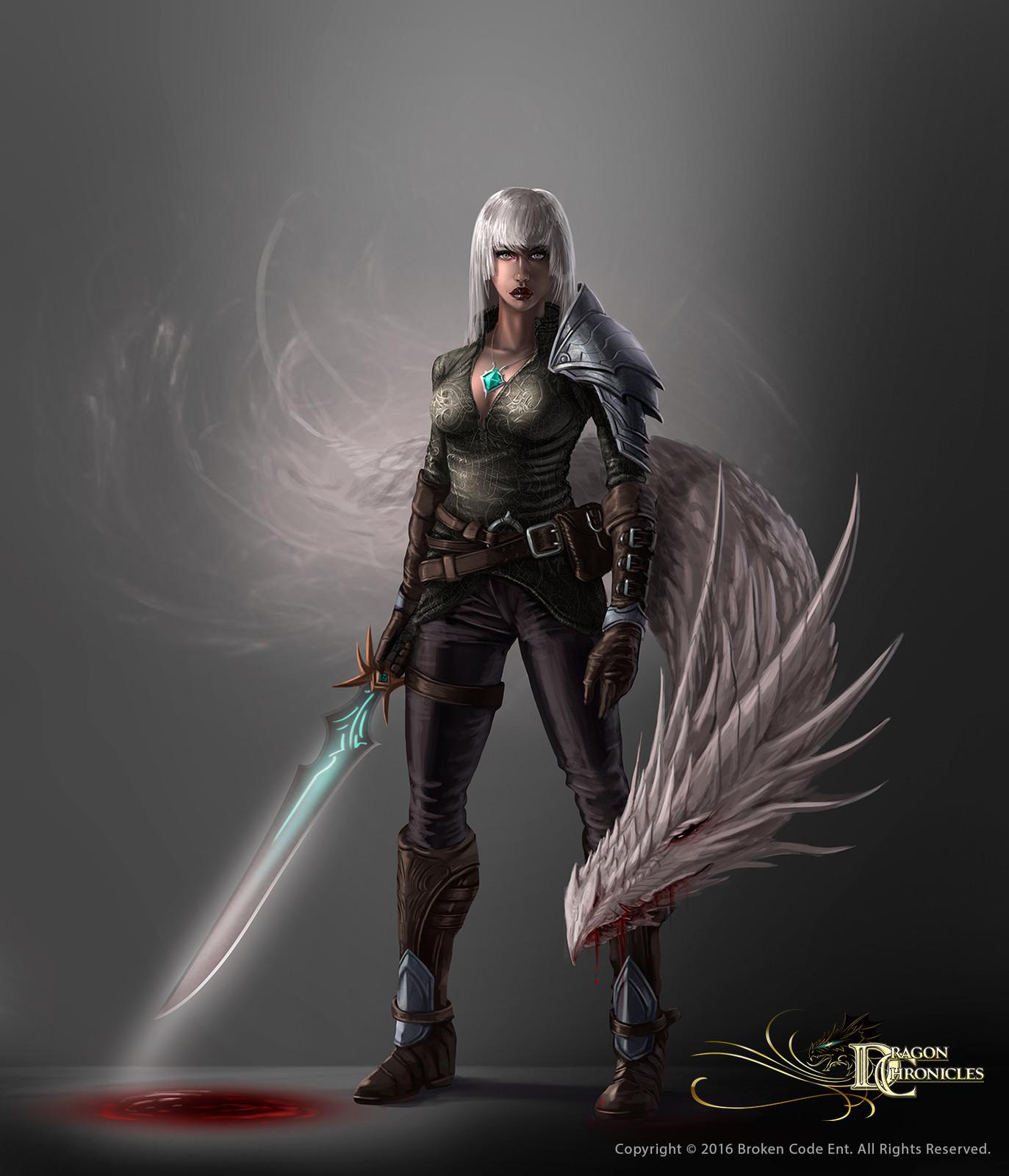 White Dragon Summoner - Dragon Chronicles