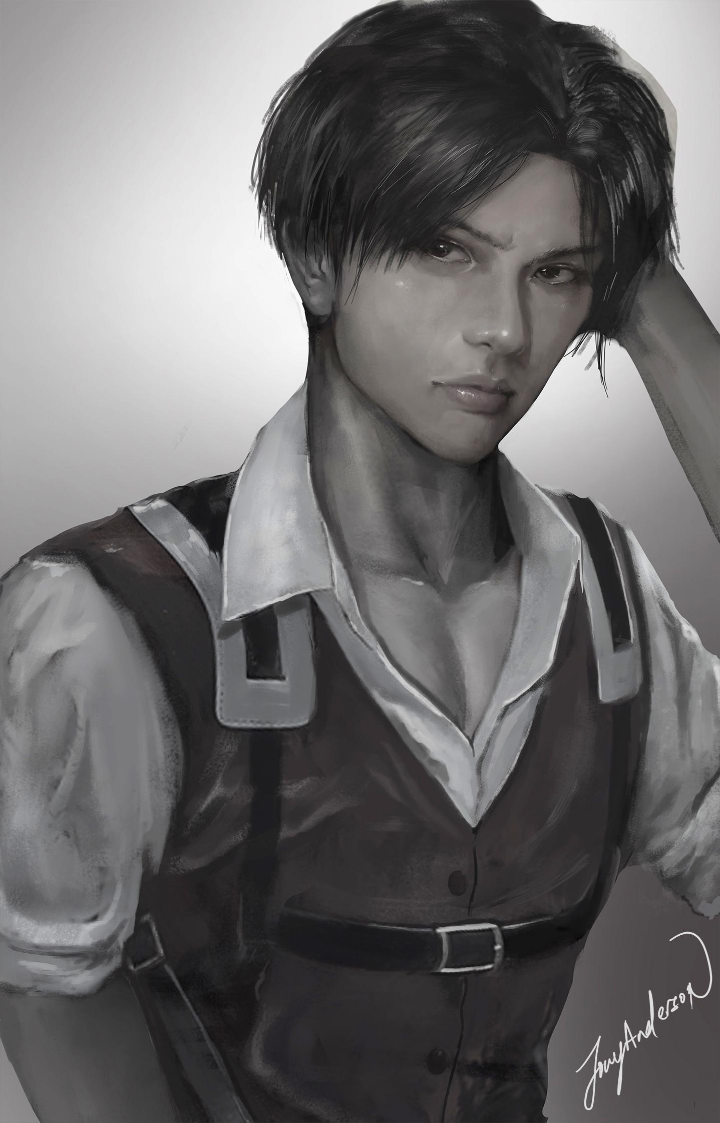 Spoilerless Levi fanart by Jowy Anderson : ShingekiNoKyojin