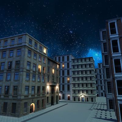 Petar doychev night sky