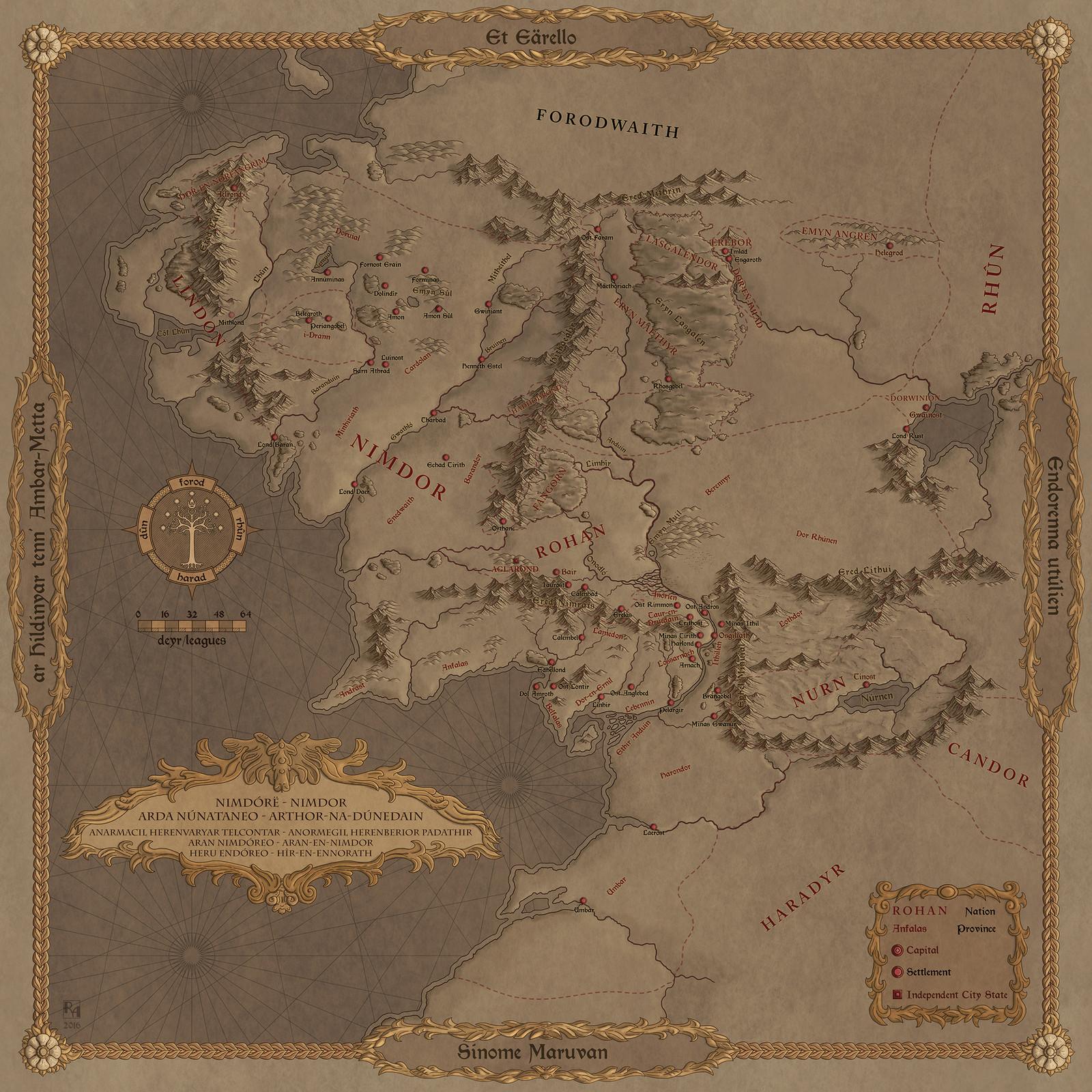 Reunited Kingdom of the Fourth Age