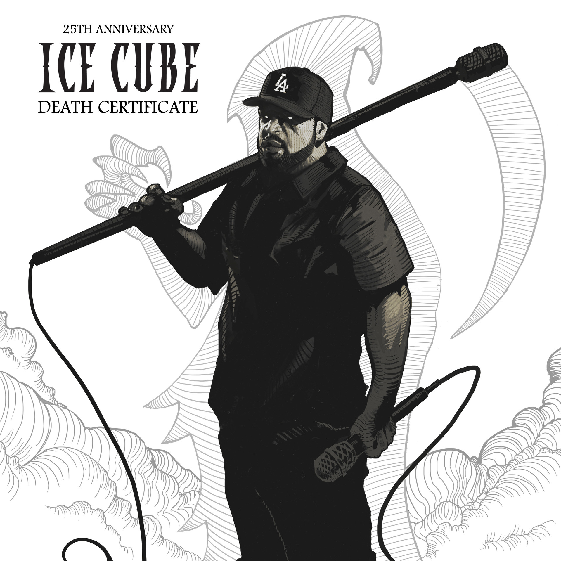 Ice Cube Cover Photo Minimalist artstation - ice cube - cover redesign, miro petrov