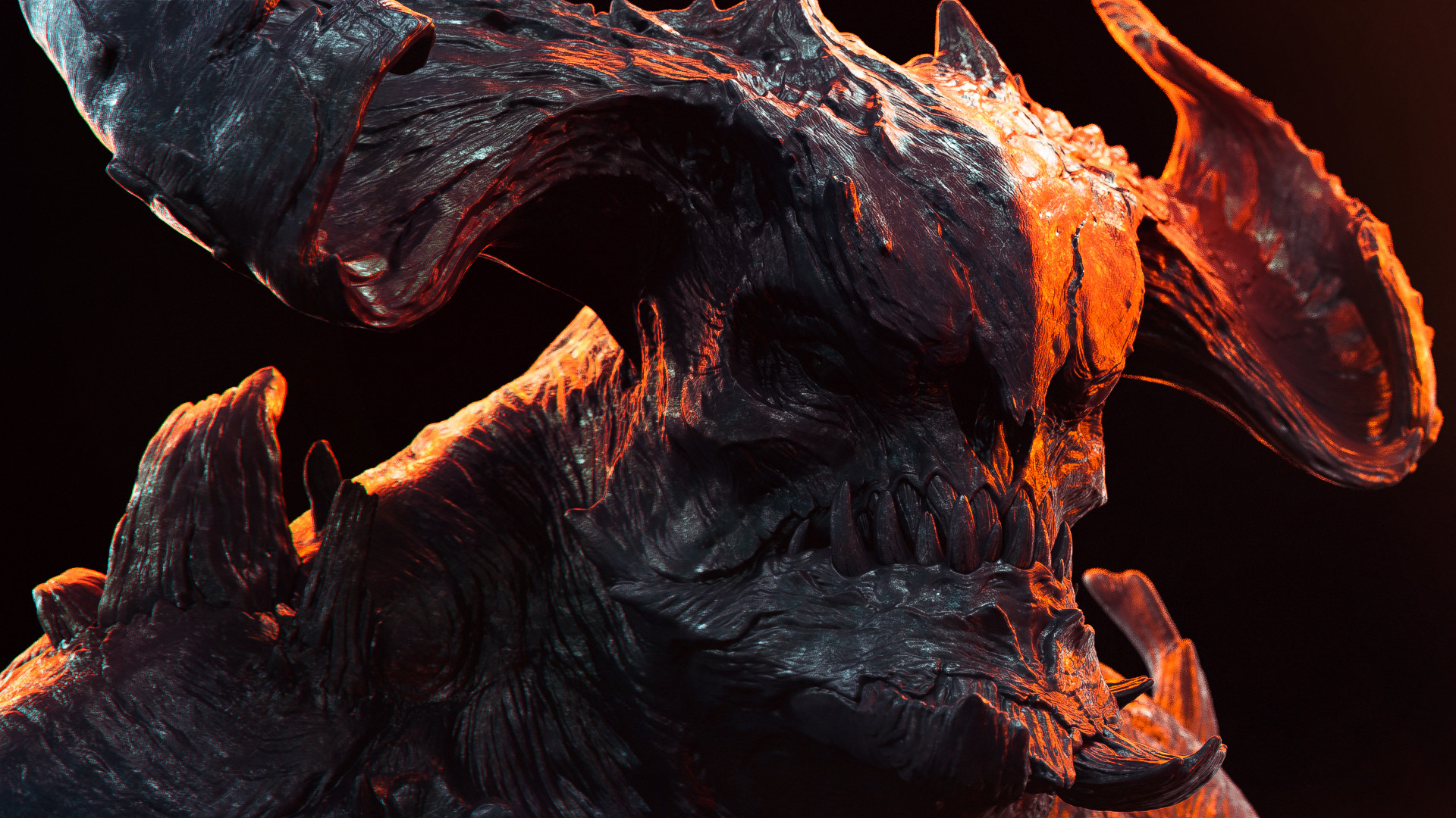 Romain pommier demon bust