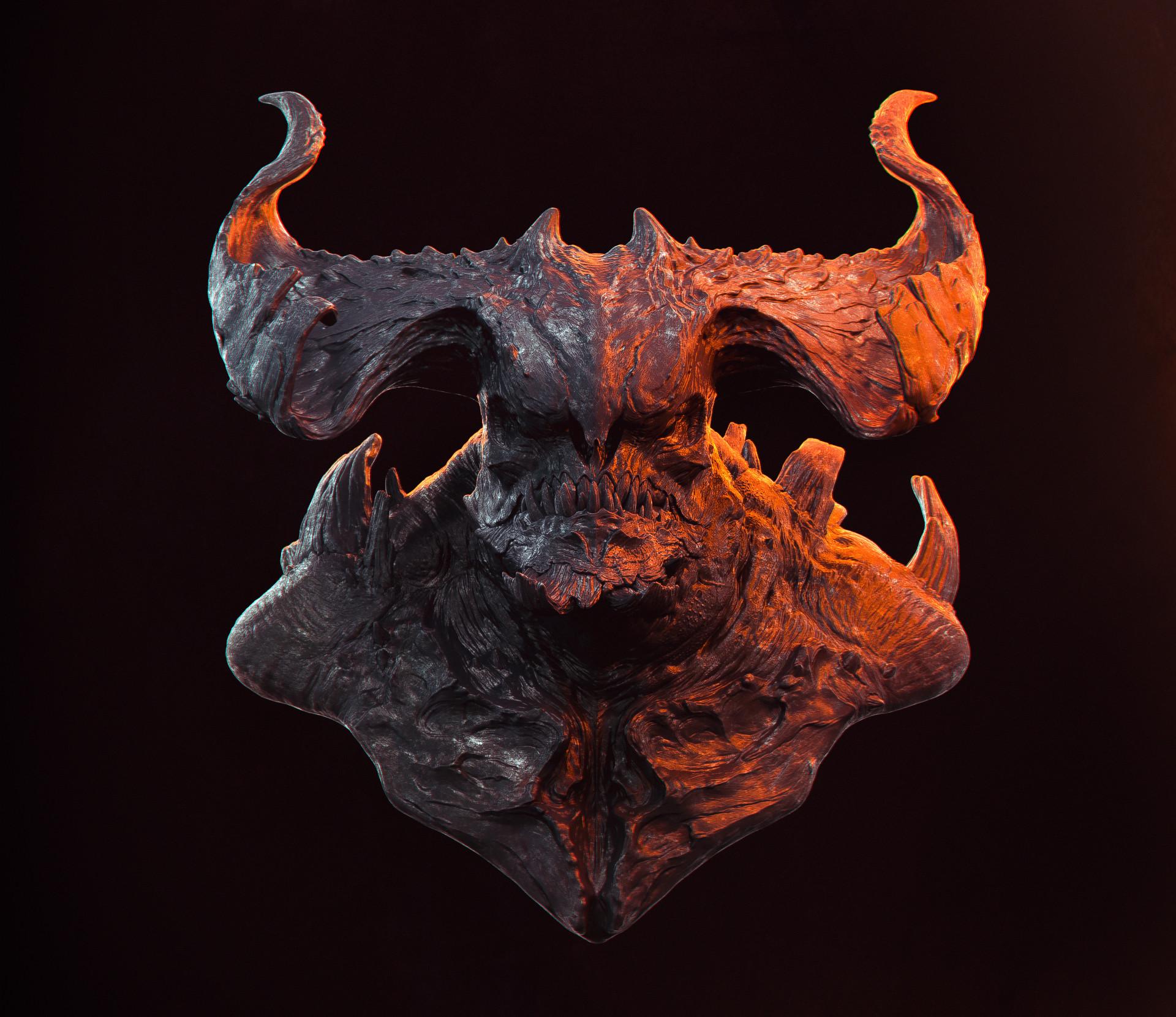 Romain pommier demon bust 2