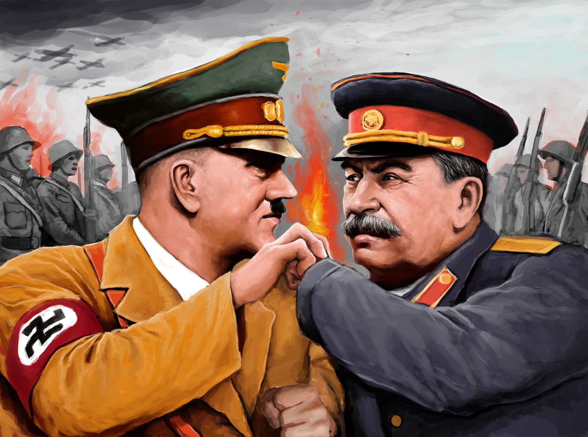 an introduction to the analysis of the comparison of hitlers germany and stalins russia Dictators hitlers germany stalins russia short introduction paul wilkinson international politics a framework for analysis international regulation of civil wars.