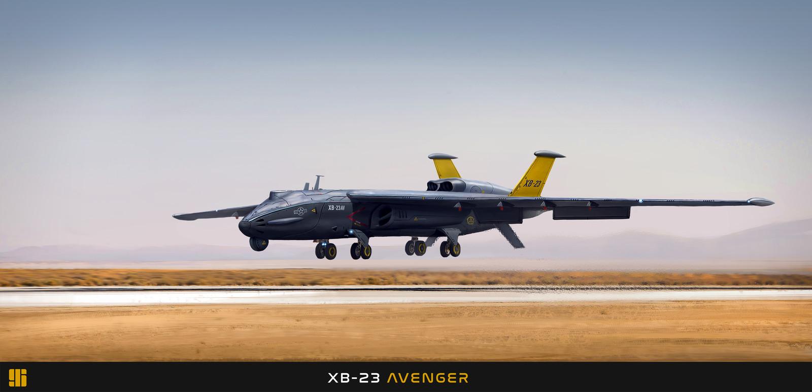 """XB-23AV """"Avenger"""""""