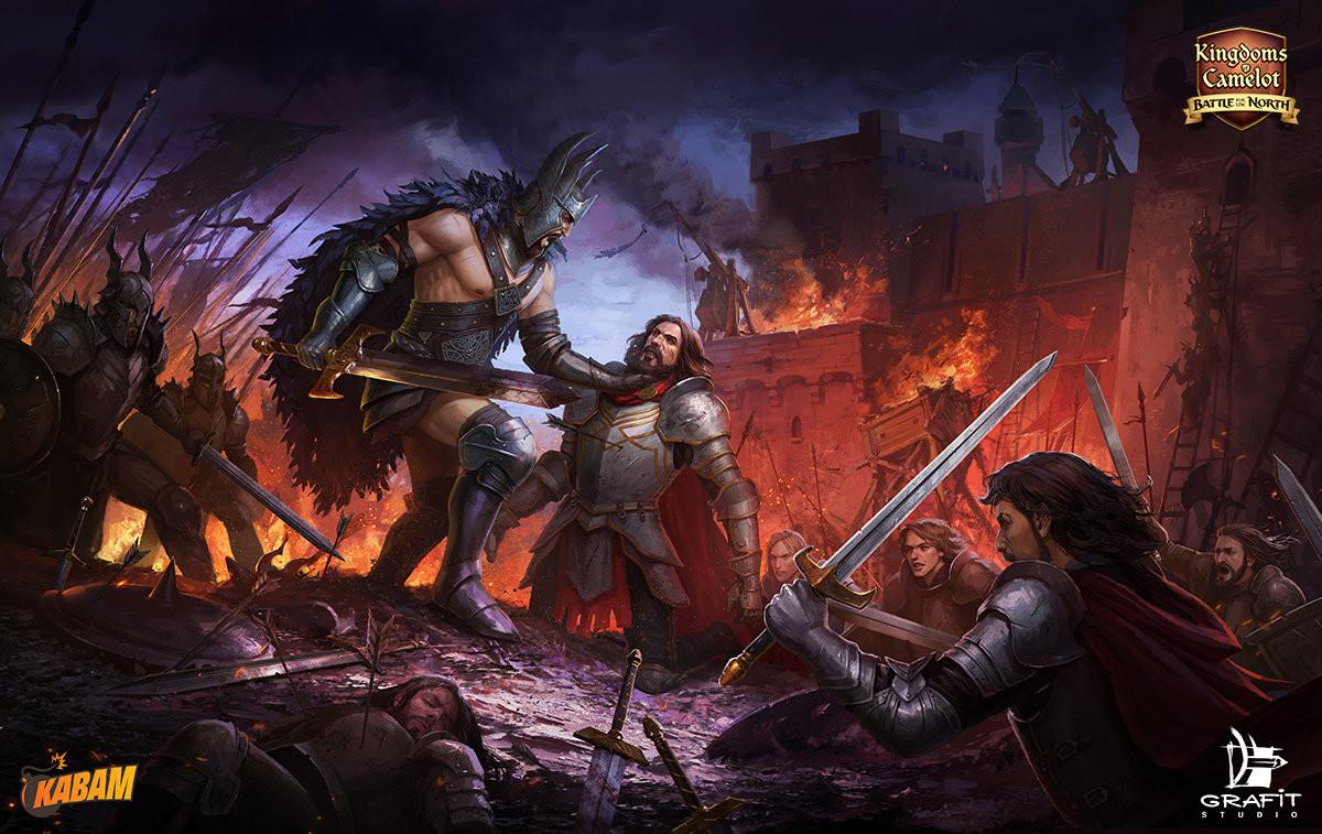 ArtStation - Kingdoms of Camelot illustrations, Grafit Studio on merlin map, runes of magic map, mabinogi map, elsword map,