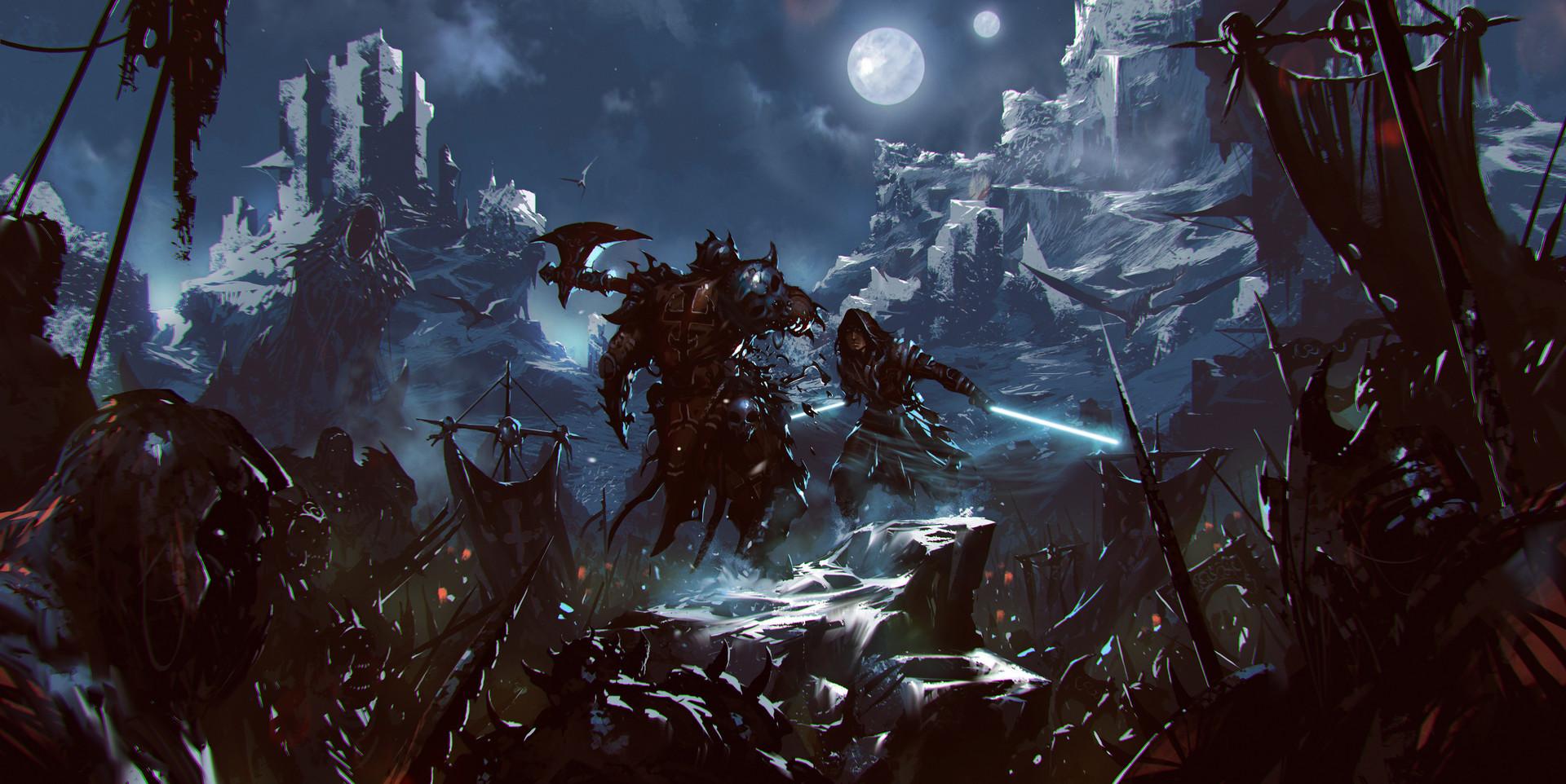 Omer tunc jedi vs orcs 2