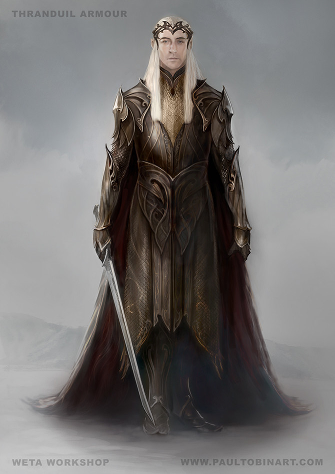 Thranduil Armour Design