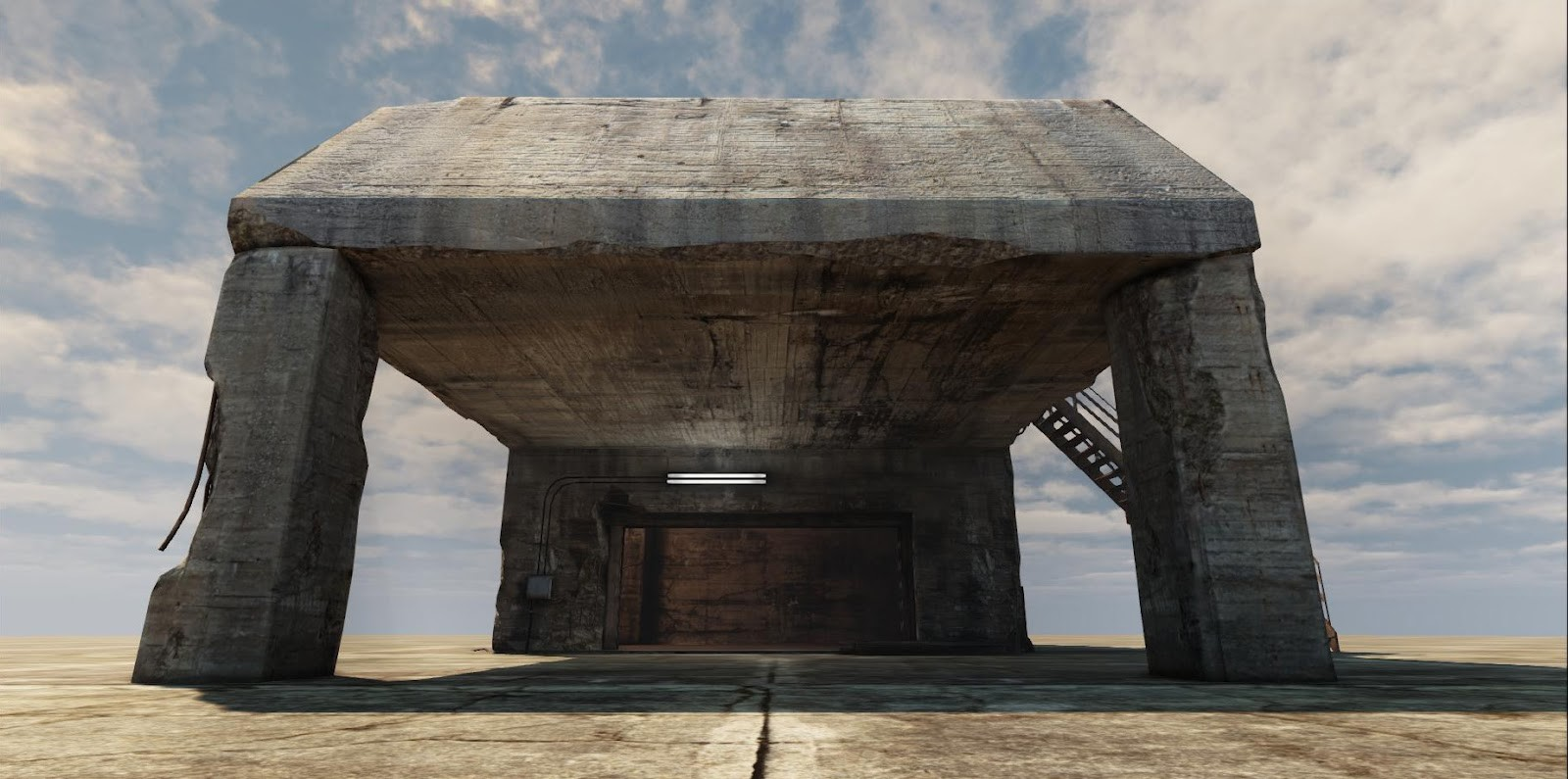Old Bunker in UDK (2012)