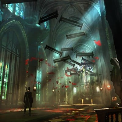 Alessandro talexi taini new cathedral concept