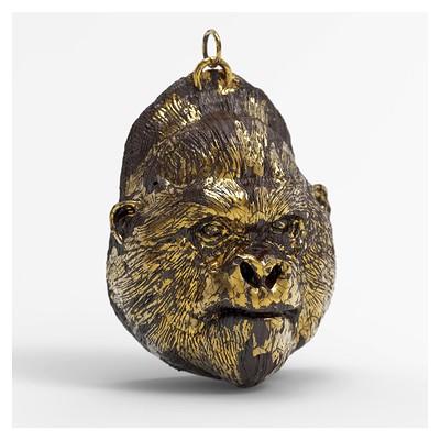 Christopher walker gorilla pendant