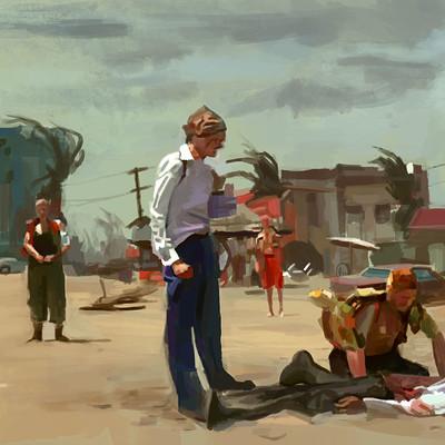 Christopher walker death of mercutio sat