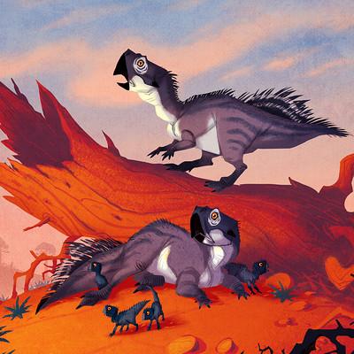 Johan egerkrans psittacosaurus