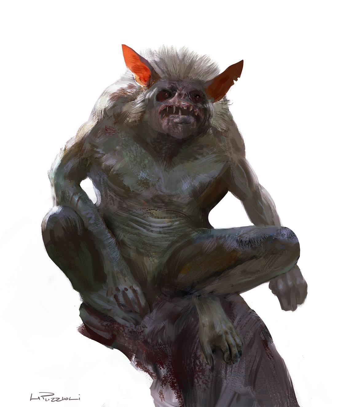 Hugo puzzuoli monkey monster